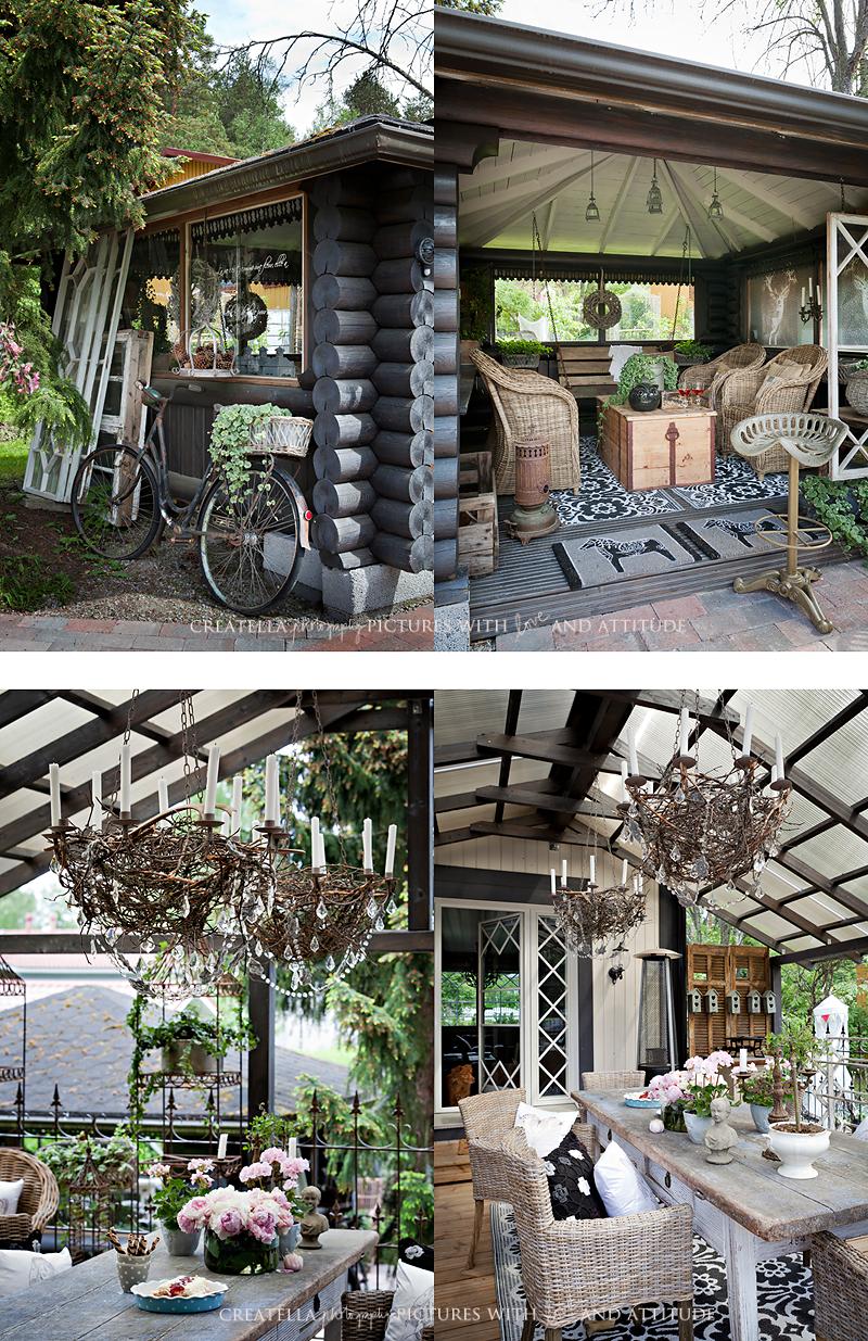 I Lilla Kamomillas Villa: Fascinerande uteplatser