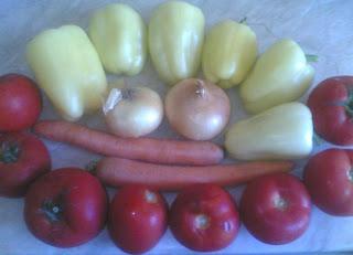 legume proaspete romanesti de gradina pentru gatit mancare de post