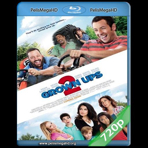 NIÑOS GRANDES 2 (2013) 720P HD MKV ESPAÑOL LATINO