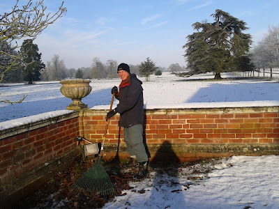 Tristram Hill volunteer gardener at Beningbrough