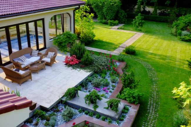 Como dise ar mi jardin casa dise o for Como puedo disenar mi casa
