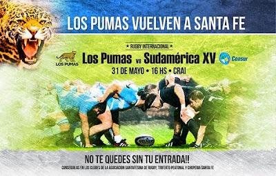 Plantel de Sudamérica XV para enfrentar a Los Pumas