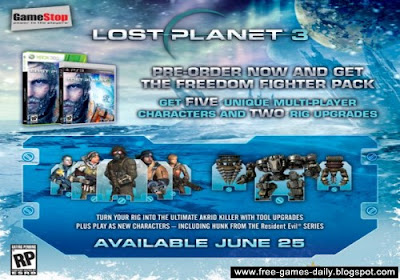 Lost Planet 3 Release Date