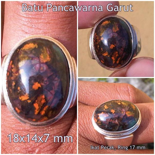 AG158- Batu Pancawarna Garut Edong... Antik Sekali !!!_SOLD