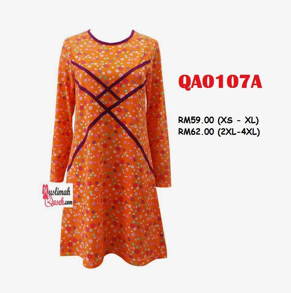 T-Shirt-Muslimah-Qaseh-QA0107A