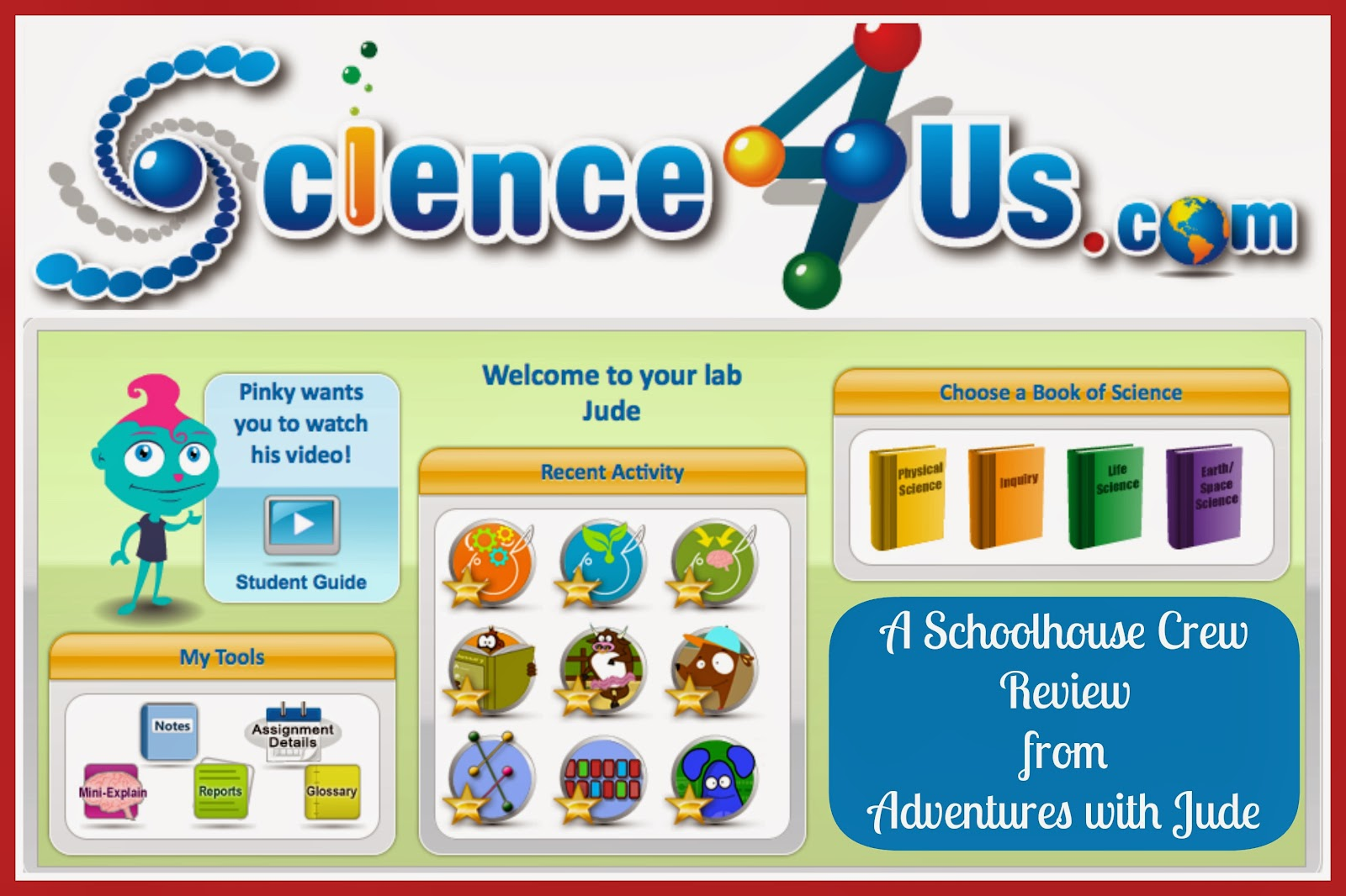Science 4 Us.com A Schoolhouse Crew Review