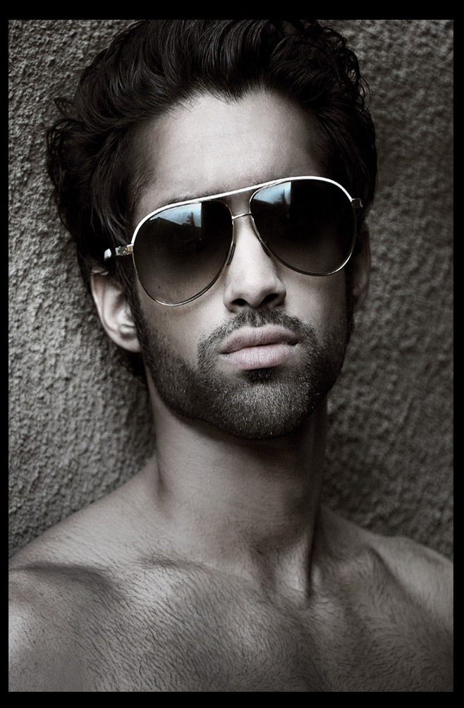 indian male model photo shoot