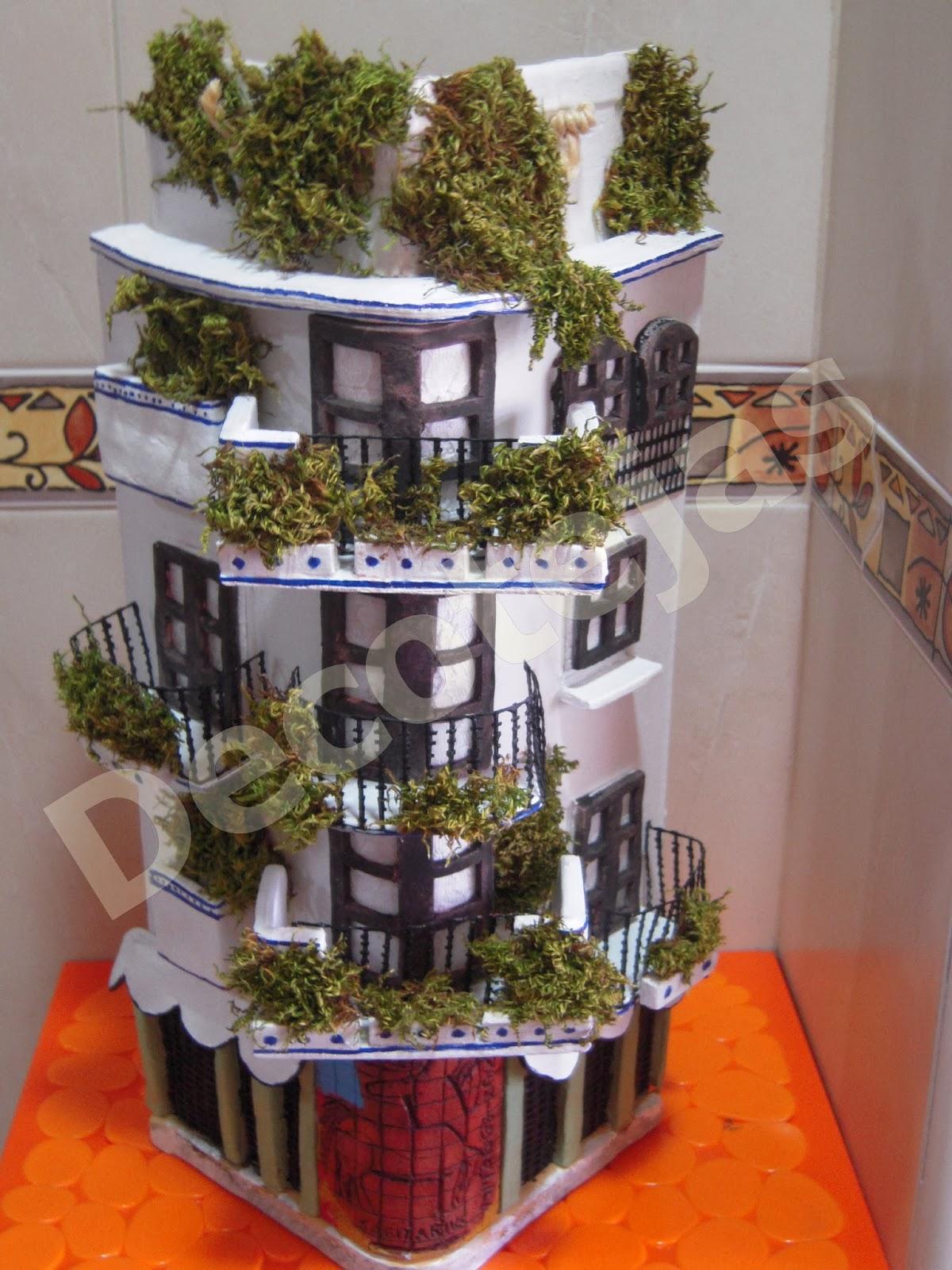 Las tejas de dina teja doble y teja esquina - Tejas pequenas decoradas ...