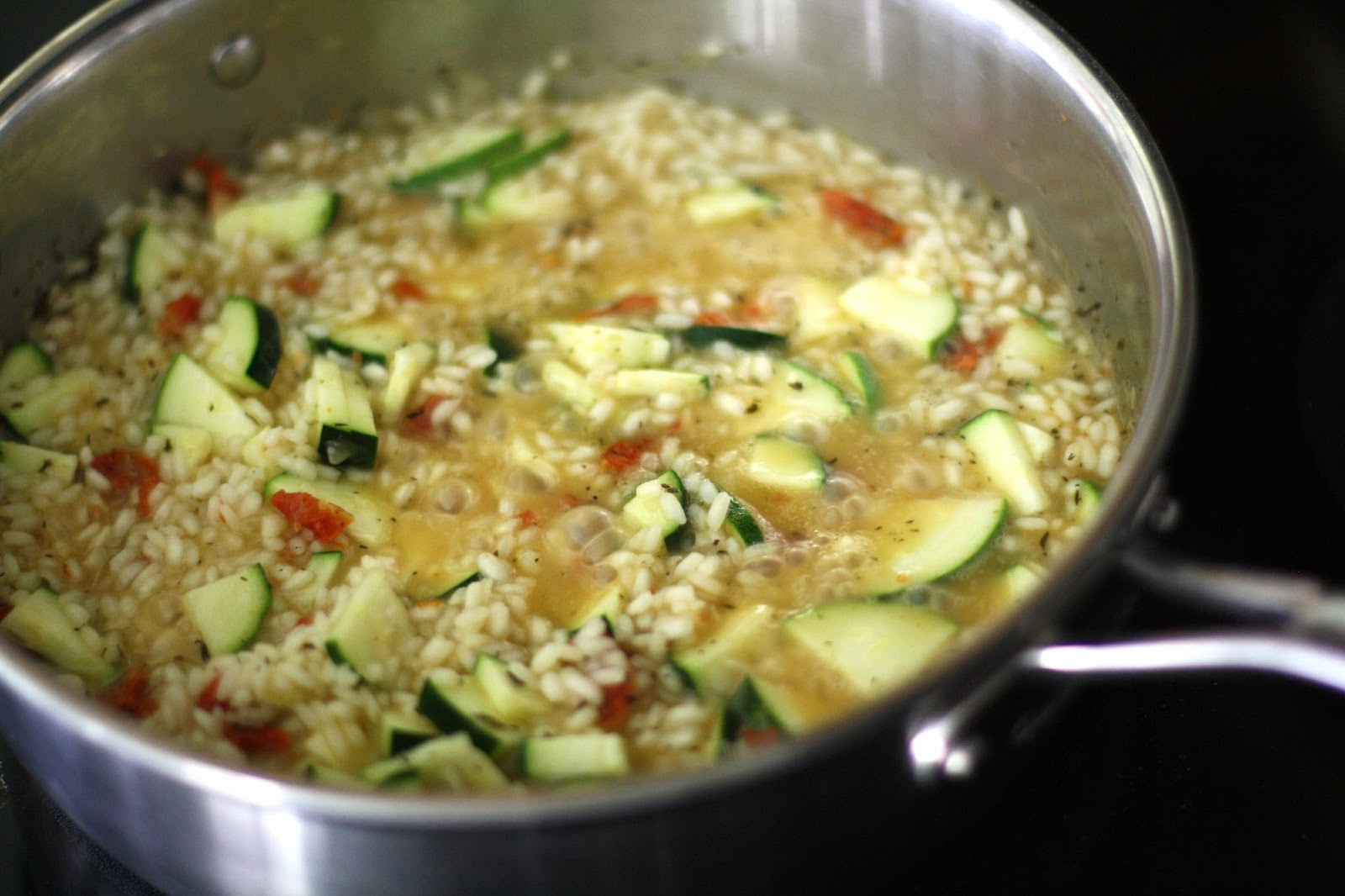 ZUCCHINI RISOTTO: Butter With A Side of Bread