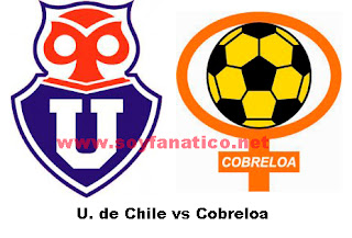 U de Chile vs Cobreloa 21 de Octubre 2015