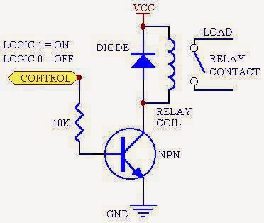 dc relay wiring diagram wiring diagram for car engine relay controller circuit using d313