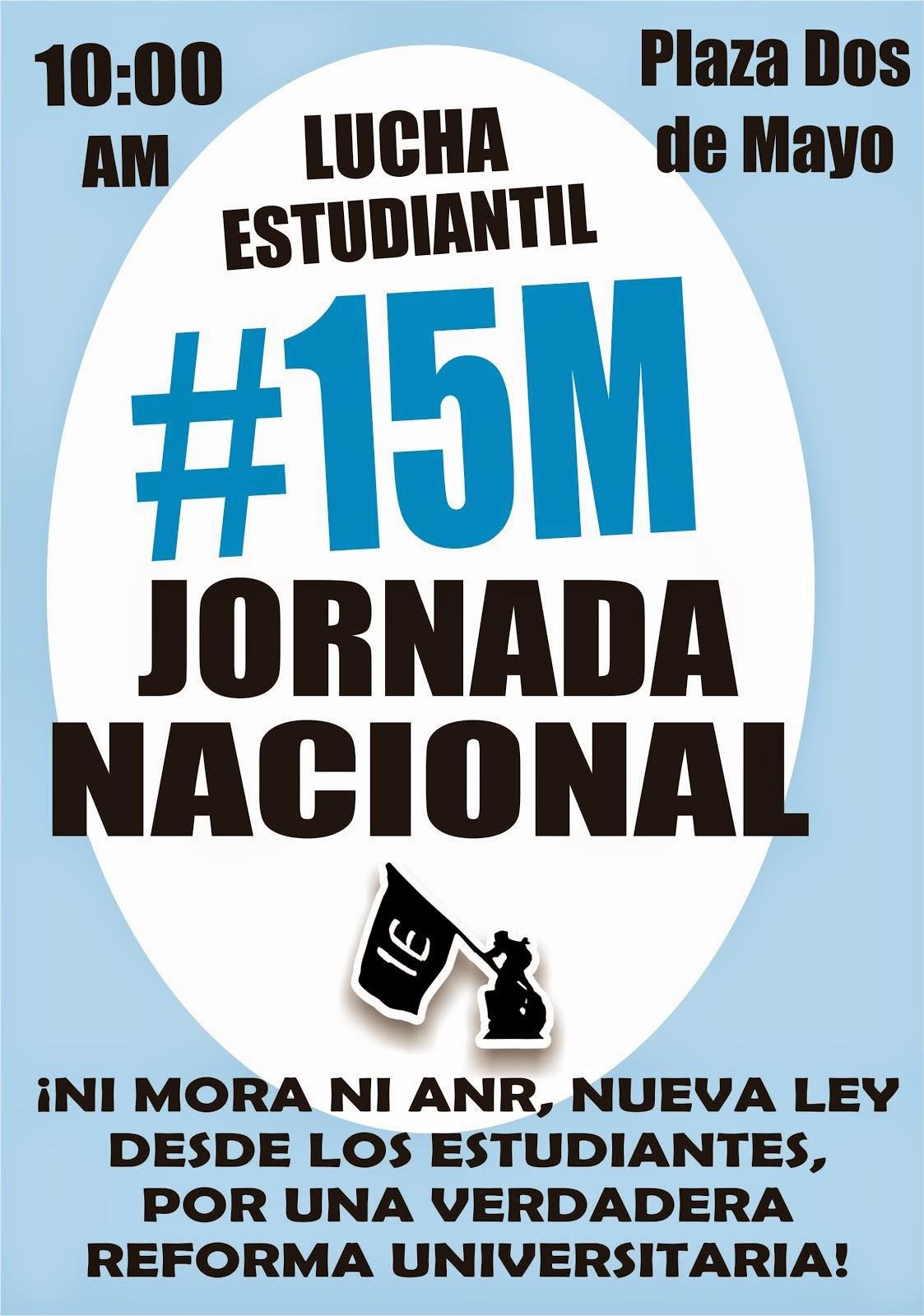 LUCHA ESTUDIANTIL #15M