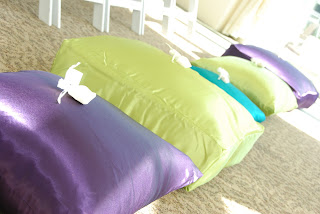 peacock pillows weddings