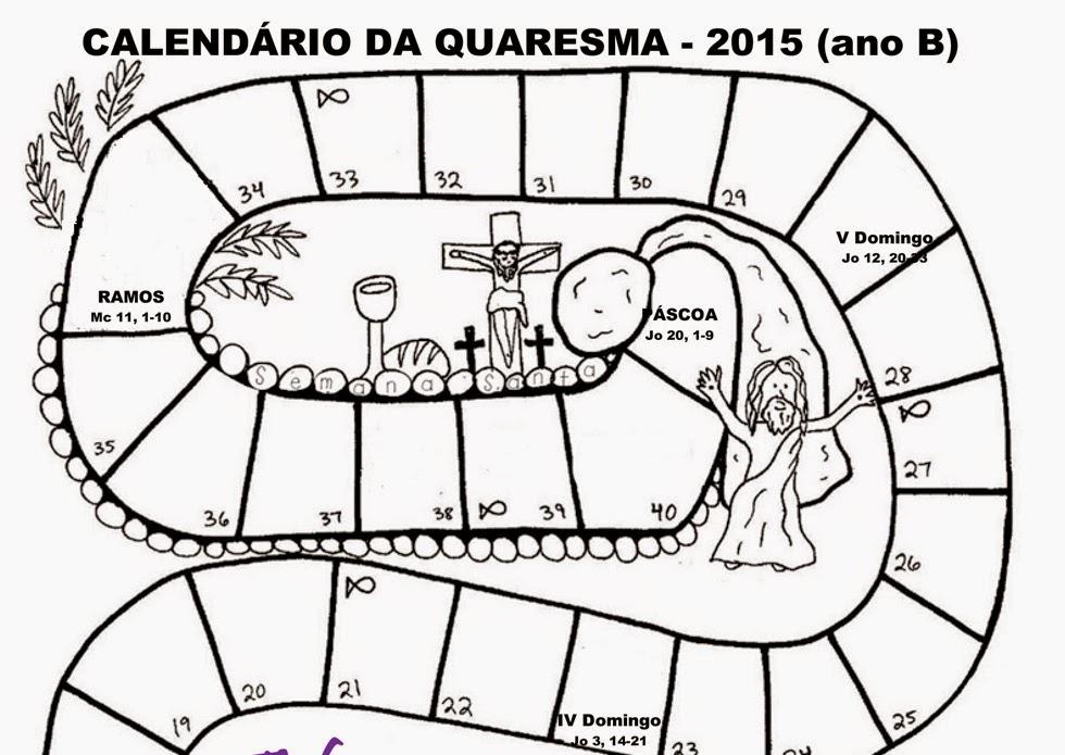 Suficiente Blog da Catequista Lucimar: Atividades para a Quaresma CJ02