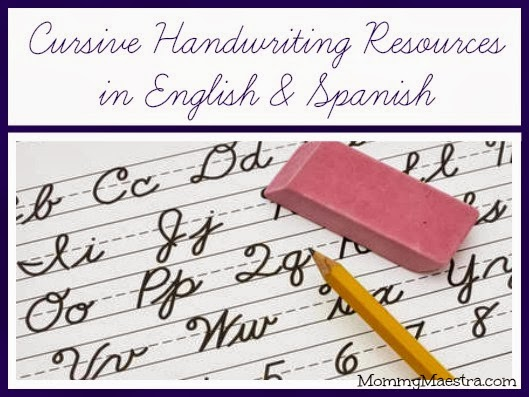 Spanish cursive curriculum