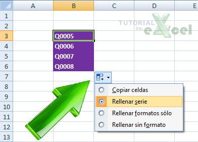 tutorial excel manipulando celdas copiar celdas adyacentes