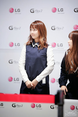 EXID Hyerin LG G Flex2