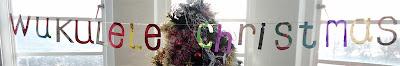 Wukulele Christmas bunting