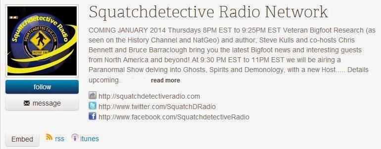 Squatch Detective Radio Steve Kulls