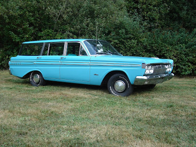 Mercury Comet 404 Station Wagon Año 1964