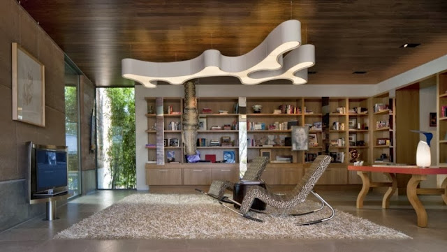 book shelf office home design