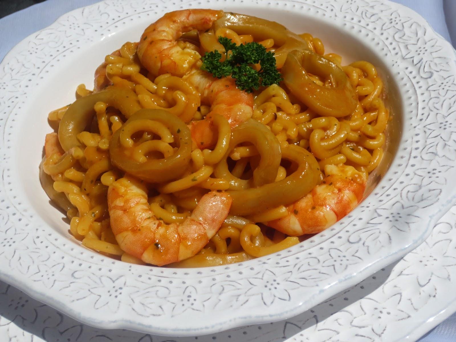 Fideuá de calamares Ana Sevilla cocina tradicional