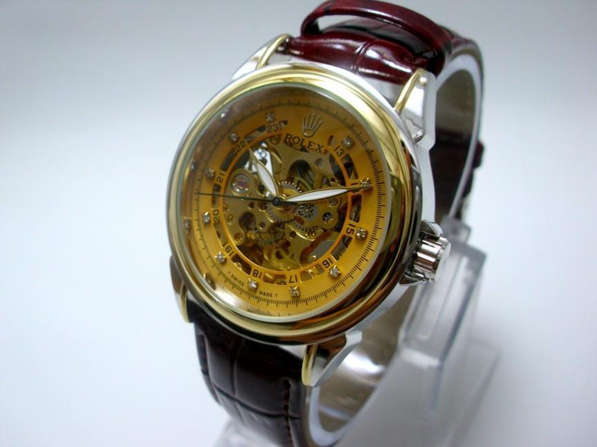 RESTOK BEST SELLER Jam Tangan Rolex Skeleton Automatic