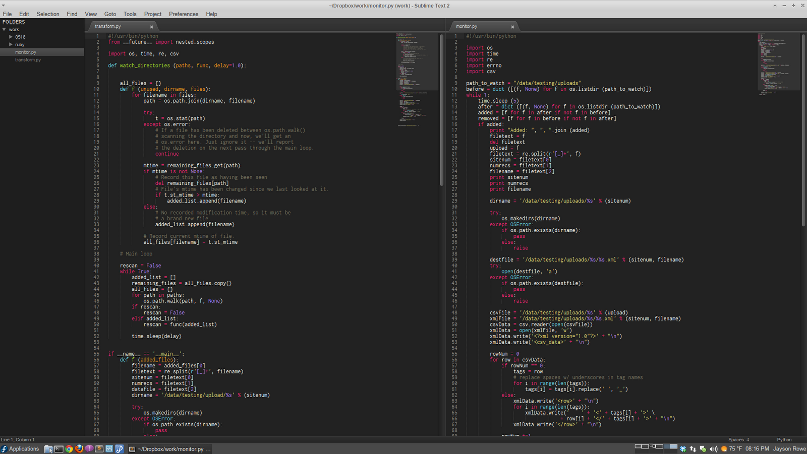 how to use sublime text 3 for html
