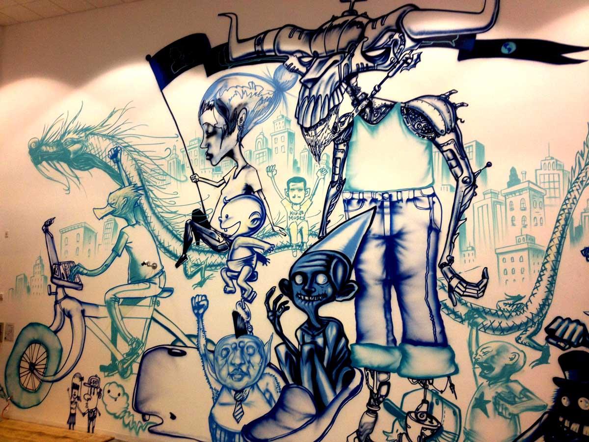 david choe paintings - david choe blogspot - david choe mural