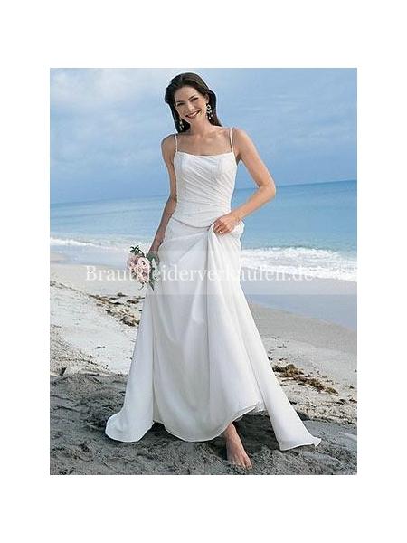 Hochzeit am Strand brautkleid