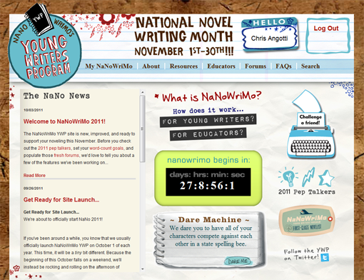national novel writing month young writers program National novel writing month is a nonprofit dedicated to helping kids and adults find the inspiration, encouragement young writers program - playlist.