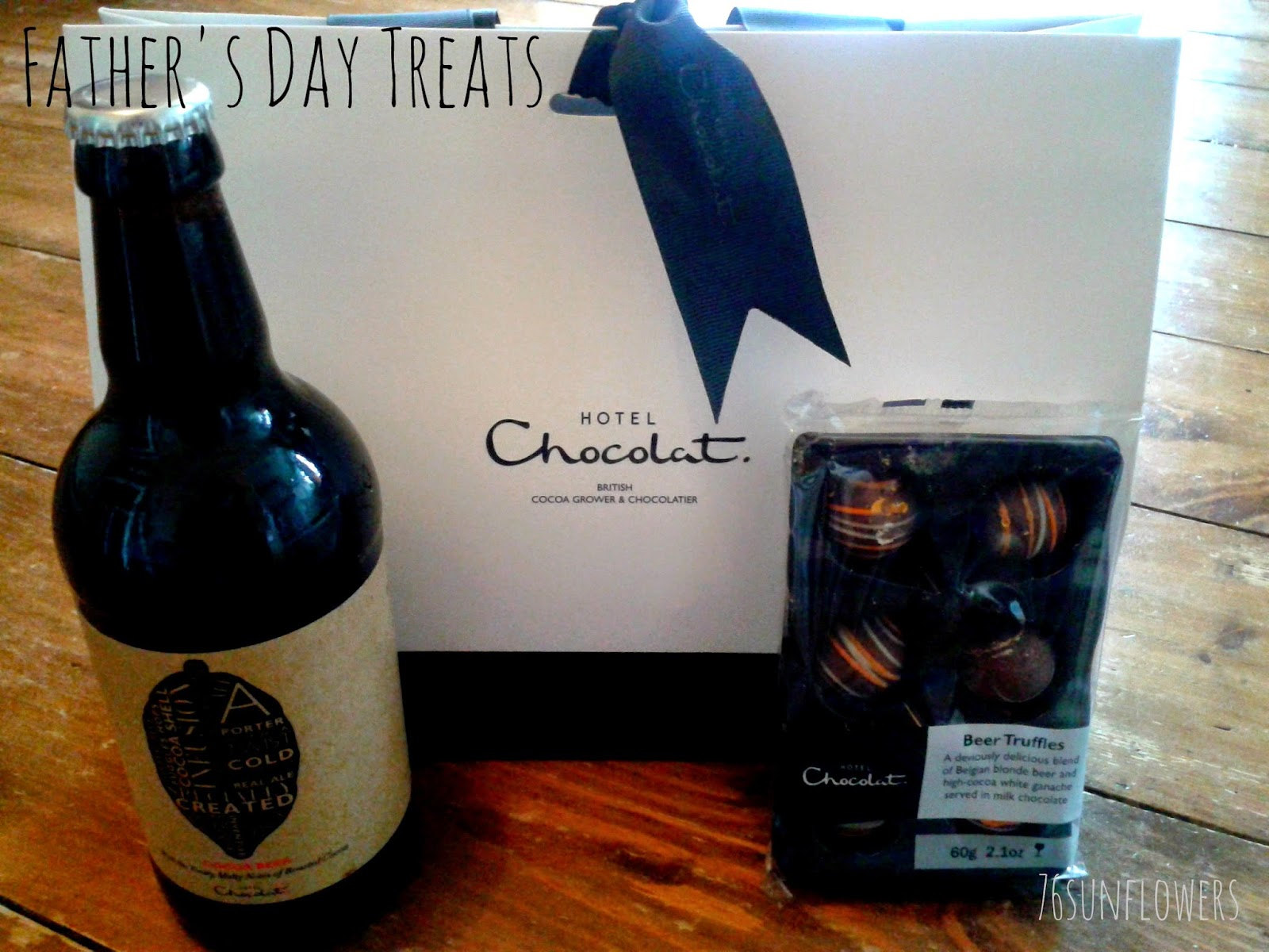 Father's Day Treats from Hotel Chocolat // 76sunflowers