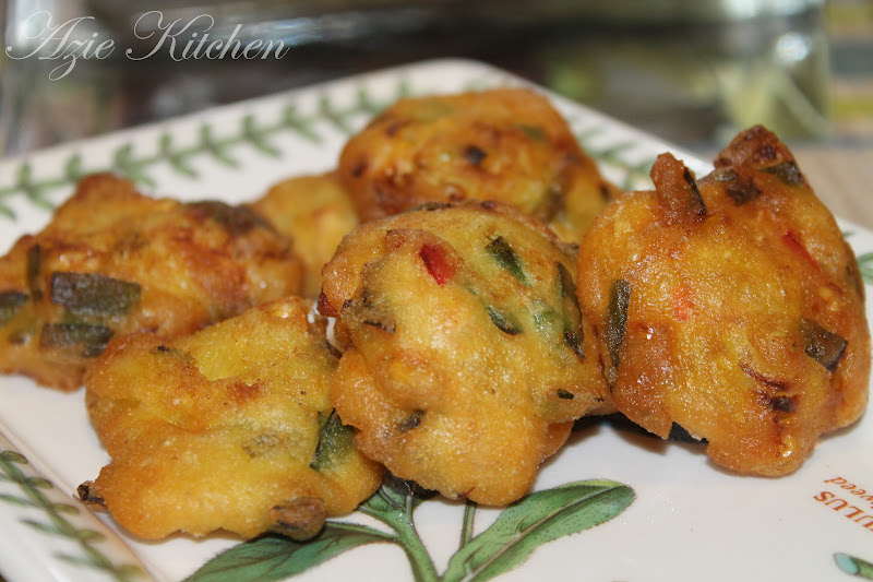 how to make cucur udang