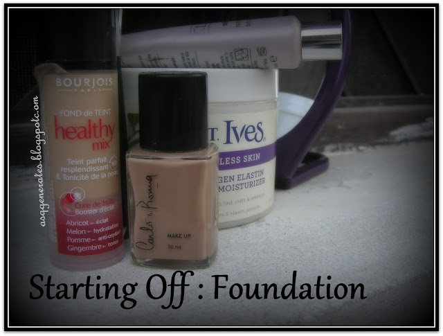 The Starting Off - Foundation picture