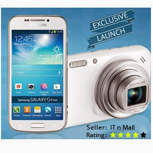 Flipkart : Samsung Galaxy SM-C1010 S4 Zoom Mobile Rs.17549