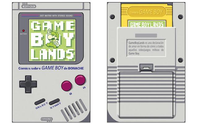Hablamos con Bonache, autor del estupendo GameBoyLands, lanzado en plena campaña para sacar la edición en papel de su comic