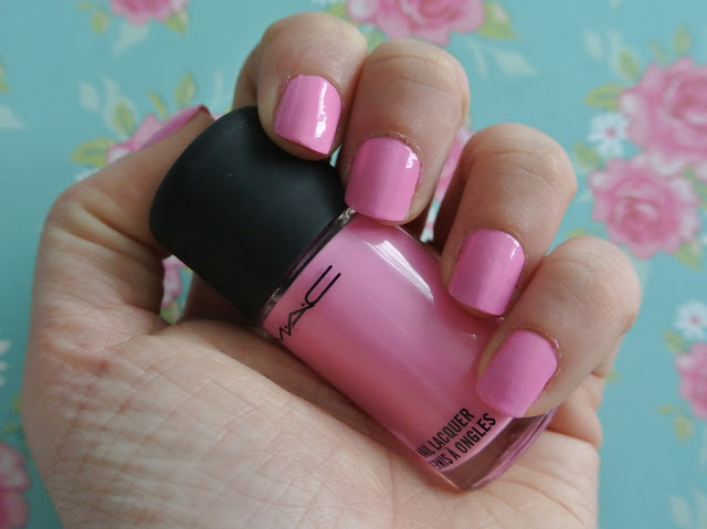 mac saint germain nail swatch
