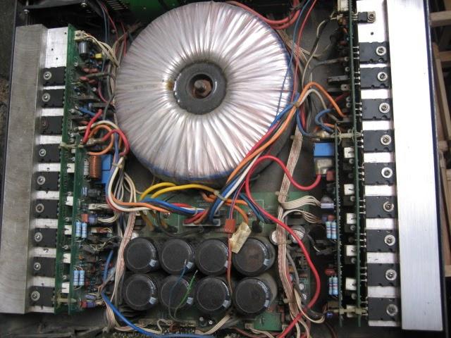 rangkaian power ampli stk
