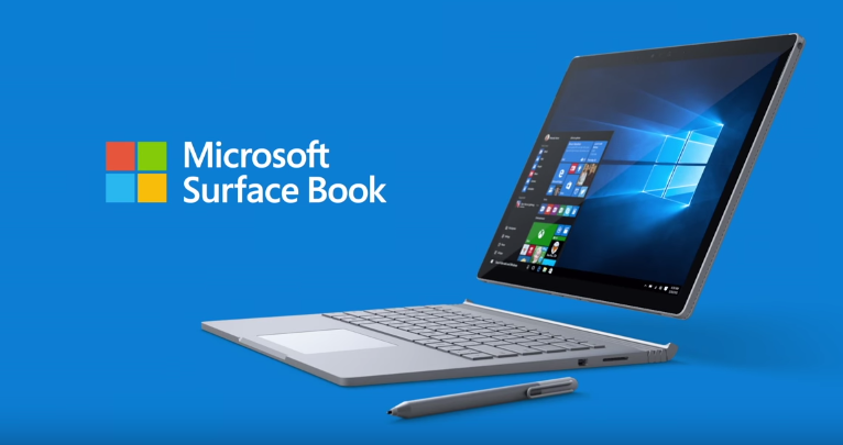 Microsoft Surface Book in official Microsoft promotion video