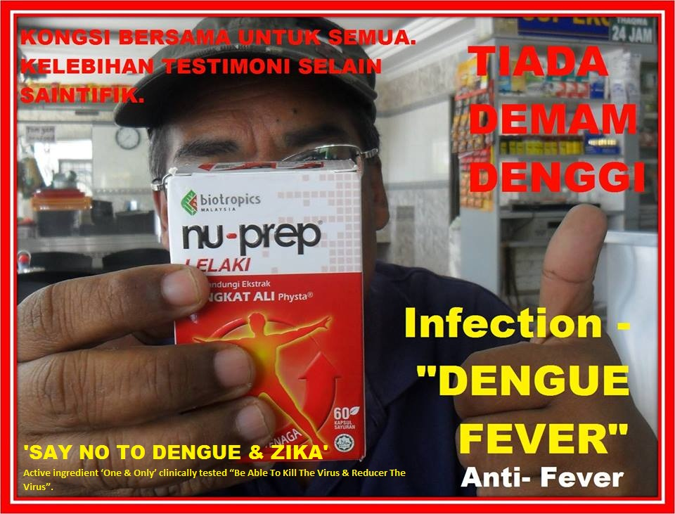 SAY NO TO DENGUE. NO DENGUE NO ZIKA