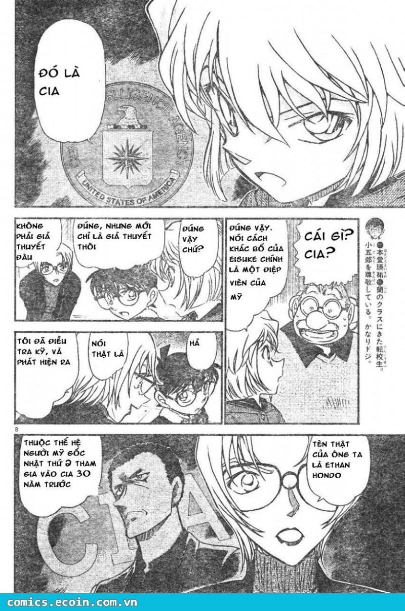 Detective Conan - Thám Tử Lừng Danh Conan chap 595 page 8 - IZTruyenTranh.com
