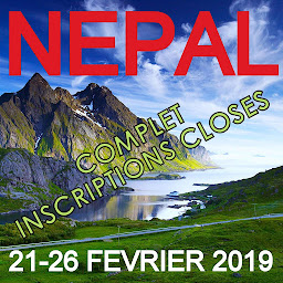 Voyage Découverte AFK au NÉPAL - 21 au 26 Février 2019