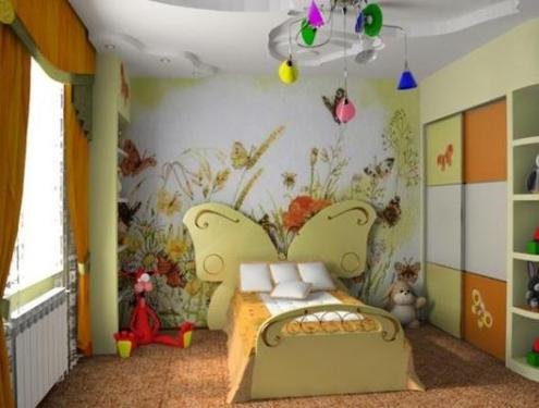 Interior Design Kids Room On Kids Room Interior Design Setting All