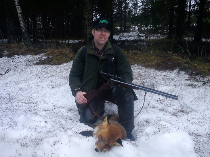 Henke sköt en räv för Ina