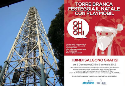 Torre Branca: Natale con Play Mobil