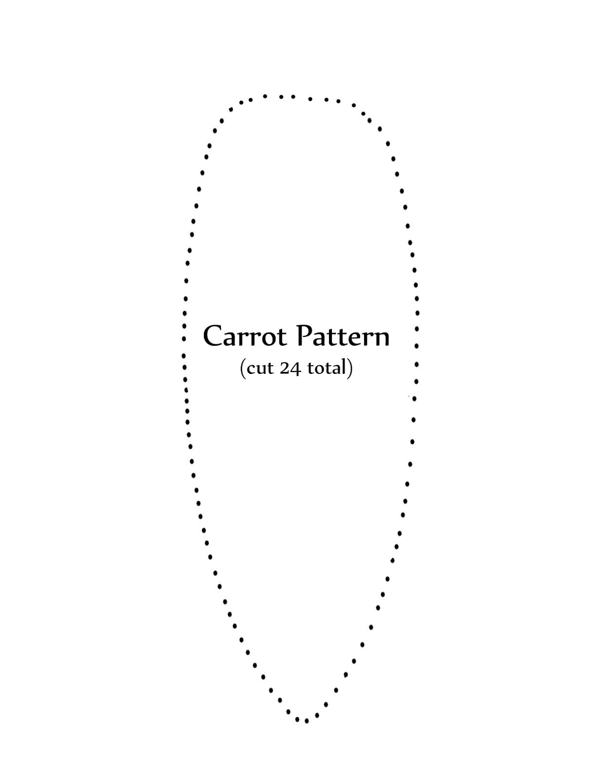JaniJo: Easter Carrot Garland