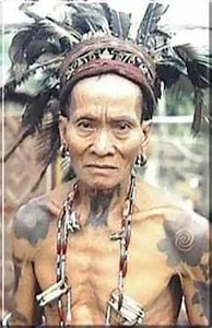 tattoo: dayak tattoo
