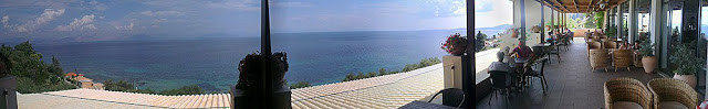Terasa iznad restorana - Mareblue Aelos (Grčka - Krf)