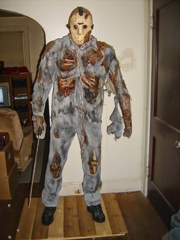 Jason Voorhees Halloween Costume Dead Lake