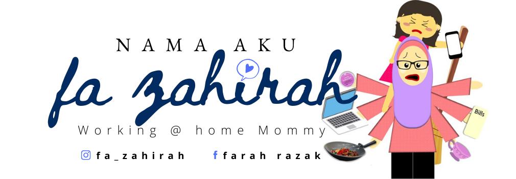 Nama aku Fa Zahirah